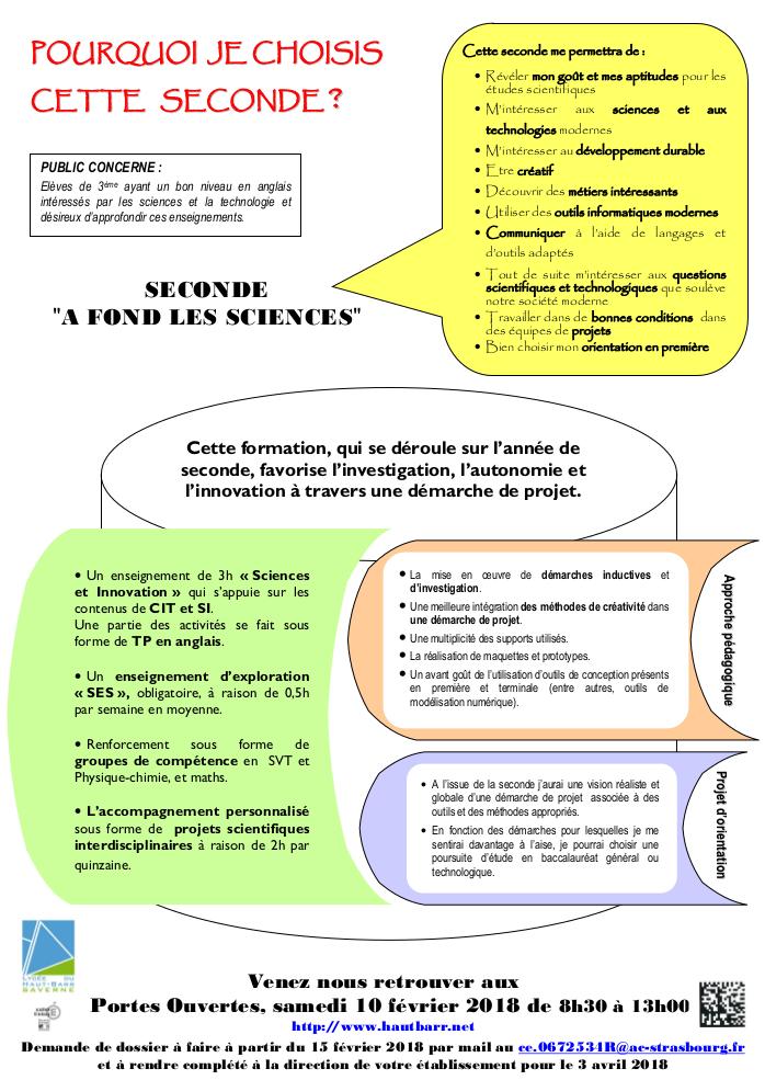 Seconde A Fond Les Sciences